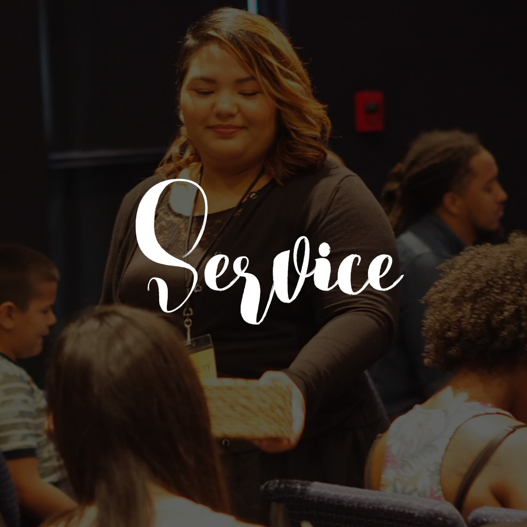 GIVE IN SERVICE